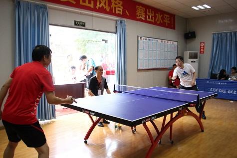 局2015年千亿国际乒乓球比赛